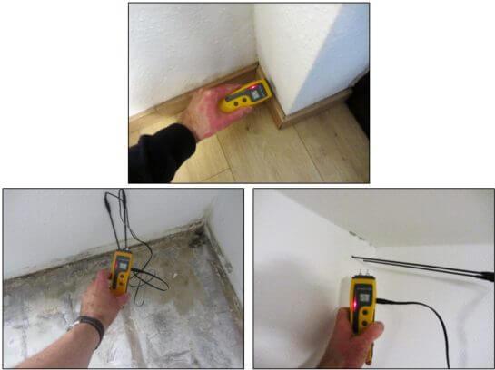 Elektrische Widerstandsmessverfahren bei Feuchtigkeitsmessungen - I-O-K