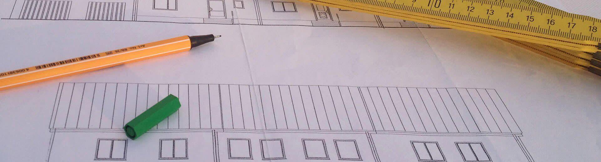 Bauzeichnungen | Sachverständigenbüro I-O-K, Oliver Klar