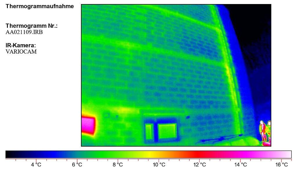 Thermogramm von außen - I-O-K