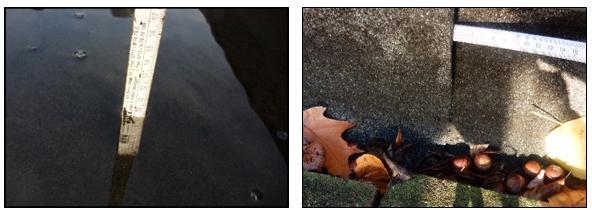 Stehendes Wasser und Undichtheiten auf Flachdach - I-O-K