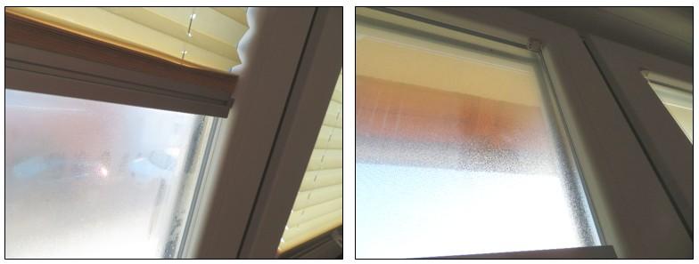 Kondensatbildung auf Fensterscheiben - I-O-K