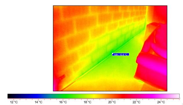 Thermografieaufnahme Schimmelpilz - I-O-K