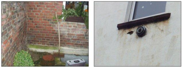 Feuchtigkeit und Feuchtigkeitsschäden im Fassadenbereich – © I-O-K